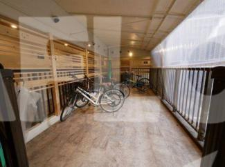 おおきに千日前幸町サニーアパートメント 駐輪場