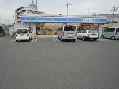 ローソン福山西深津店(コンビニ)まで618m