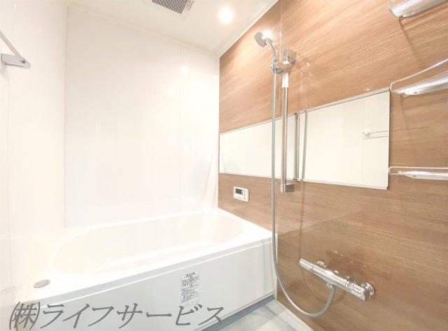浴室新調・自動お湯張り、追い焚き機能有