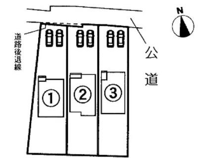 【区画図】浜松市南区鼡野町 4期 新築一戸建て 1号棟 HM