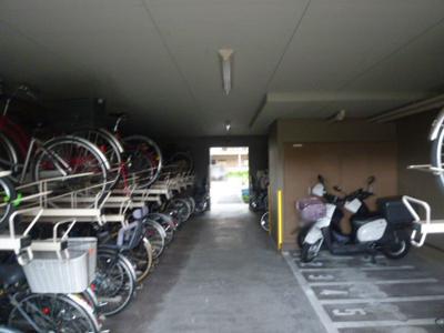 【駐輪場】K-City桂川Ⅰ番館