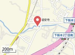 【地図】ピュアウォーターシュウエイ