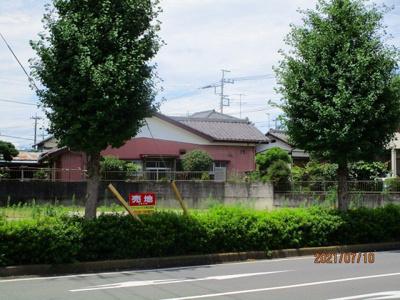 【前面道路含む現地写真】鴻巣市氷川町 売地1区画