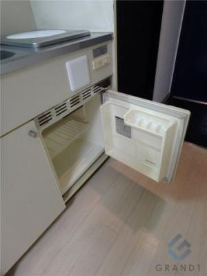 ミニ冷蔵庫完備