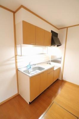 【キッチン】EDELHEIGHTS 3号館