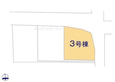 【区画図】クレイドルガーデン北葛城郡広陵町萱野第2