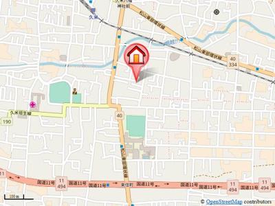 【地図】ロード88 ミヨシ