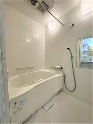【浴室】❖高台 最上階♪3方角部屋☆内装フルリノベーション済☆中銀徳丸マンシオン❖