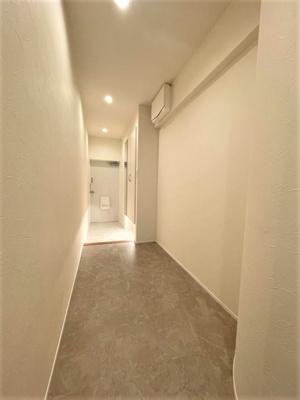 【玄関】❖高台 最上階♪3方角部屋☆内装フルリノベーション済☆中銀徳丸マンシオン❖
