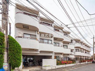 【外観】❖高台 最上階♪3方角部屋☆内装フルリノベーション済☆中銀徳丸マンシオン❖
