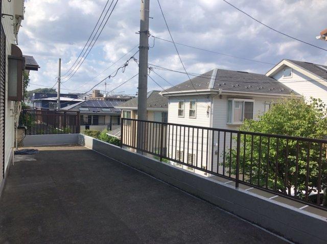 【外観】道路とフラット・高石4丁目 売地【更地渡し】