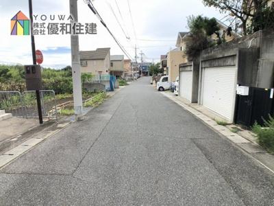 【前面道路含む現地写真】神戸市西区玉津町水谷 中古戸建