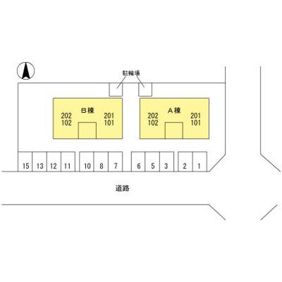 【区画図】エスポワール A棟