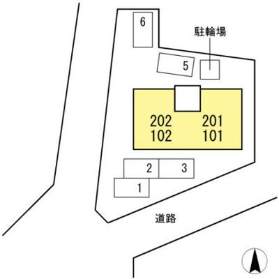 【区画図】シェル・ド・エトワール