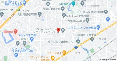 【地図】パームヒルズ (株)Roots