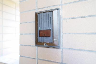 玄関横のドアホン