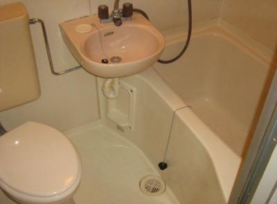 【浴室】ラフィーネ津門