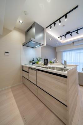 【キッチン】フドウパピルスハイツ 3階 リ ノベーション済