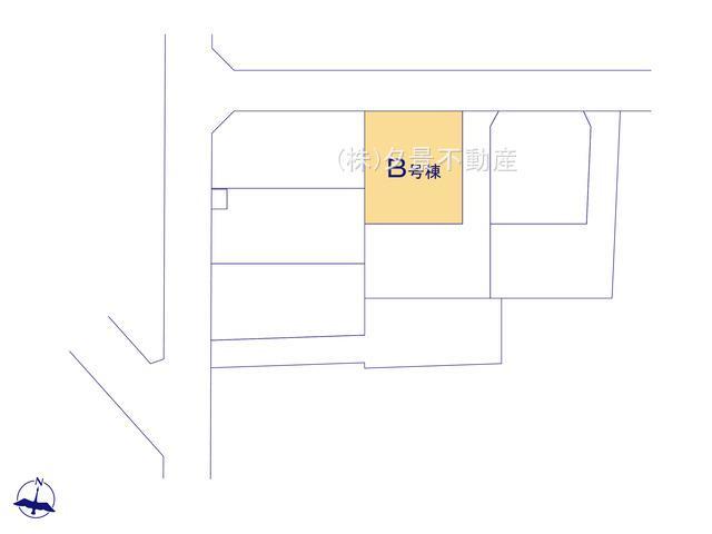 【区画図】大宮区三橋1丁目255-1(B号棟)新築一戸建てハートフルタウン