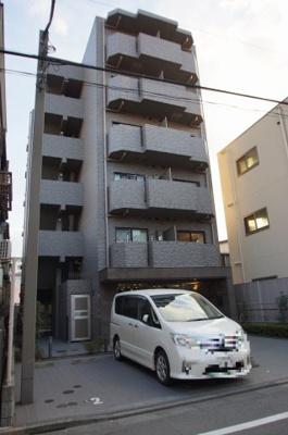 京浜急行空港線「大鳥居」駅より徒歩5分のマンションです
