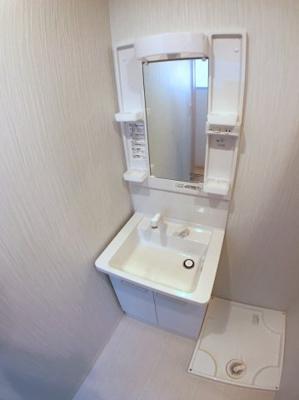 洗面台に関しましても新品未使用ですのでとてもきれいです♪
