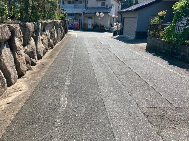 【前面道路含む現地写真】デザイン住宅「FIT」那珂川市片縄5丁目1期 オール電化住宅4LDK