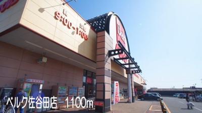 ベルク佐谷田店まで1100m