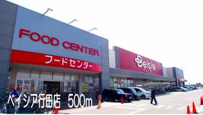 ベイシア行田店まで500m