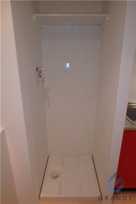 室内洗濯機置き場(^O^)/
