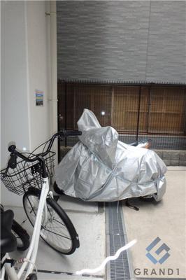 バイク置き場スペース