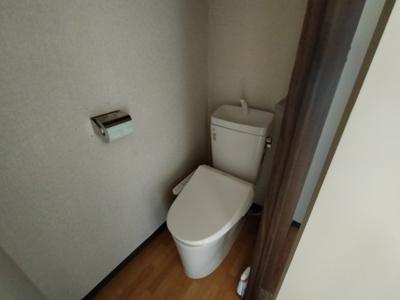 【トイレ】コーポ阪奈B棟