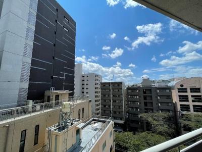 大橋団地久保ビルの眺望です。