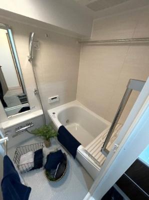 大橋団地久保ビルの浴室です。