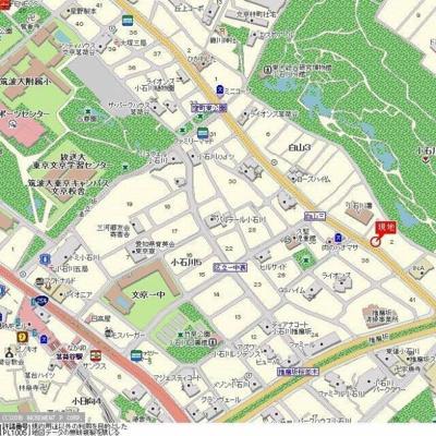【地図】スカイコート茗荷谷壱番館