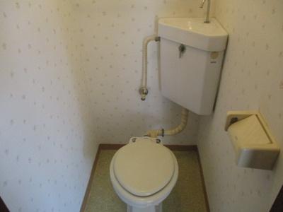 【トイレ】ウエノ第一マンション