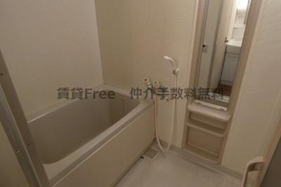 【浴室】今里西青山ビル 仲介手数料無料