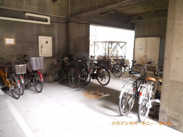 【駐輪場】巣鴨第二SYマンション