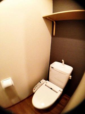 ビバイン平尾 (1DK) トイレ