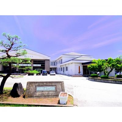 中学校「長野市立篠ノ井西中学校まで1659m」