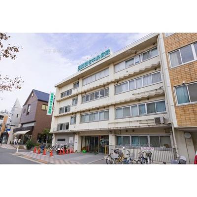 病院「医療法人社団七仁会田園調布中央病まで1652m」