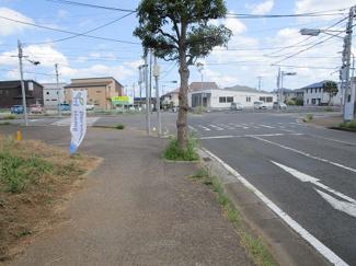 四街道市和良比 土地 四街道駅 前面道路も広々です!