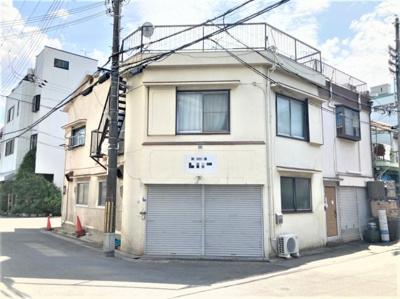 【外観】東郷通2丁目倉庫付貸事務所