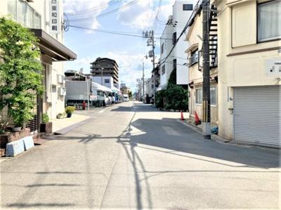 【周辺】東郷通2丁目倉庫付貸事務所