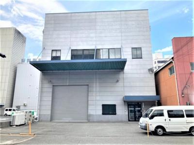 【外観】長田東2丁目倉庫付貸事務所