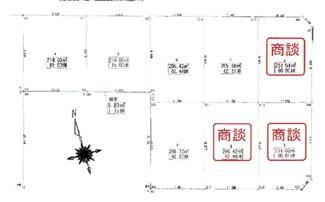 【区画図】57144 羽島市堀津町分譲地