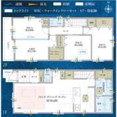 宿河原7丁目 2階建て 全3棟の画像