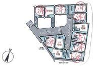 【区画図】大東市御供田5丁目 8号棟 新築戸建