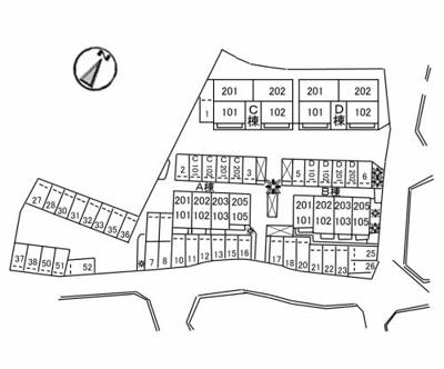 【区画図】シャーメゾン和 A棟