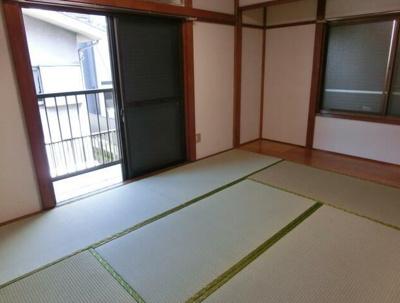 【寝室】オカダハイツ