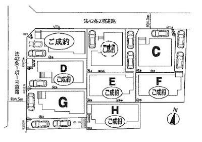 【区画図】大宮区三橋第3